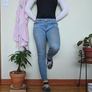 Zara's size 8 👖skinny jeans👖 cropped ankle✨